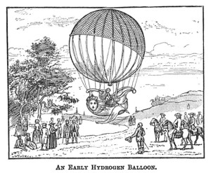 An early hydrogen balloon