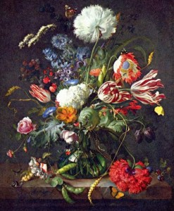 de heem with pea pods