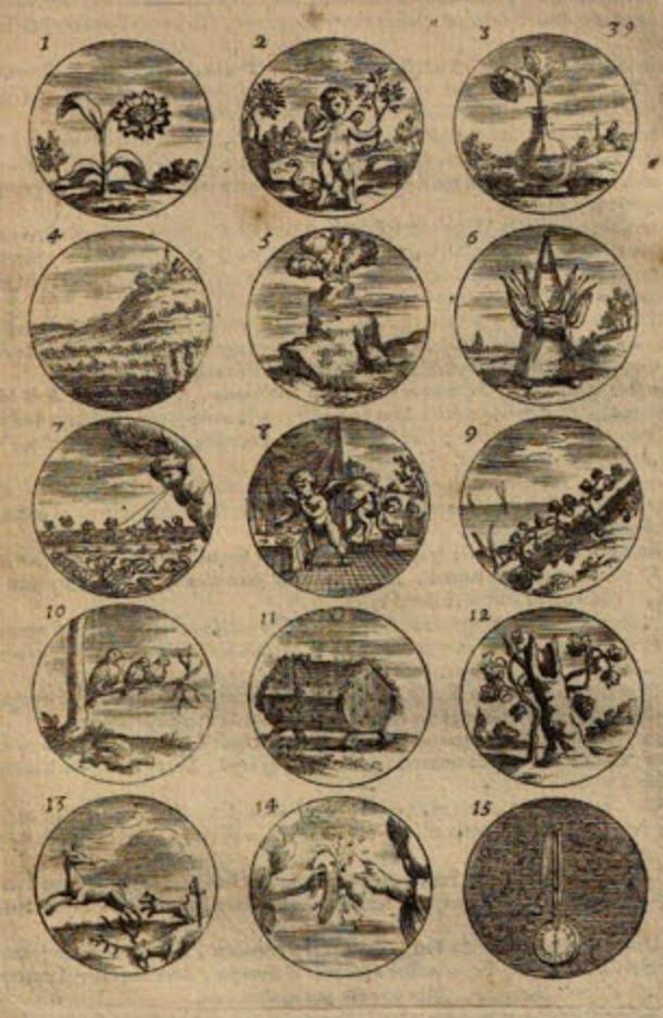 emblems Daniel de Lafeuille